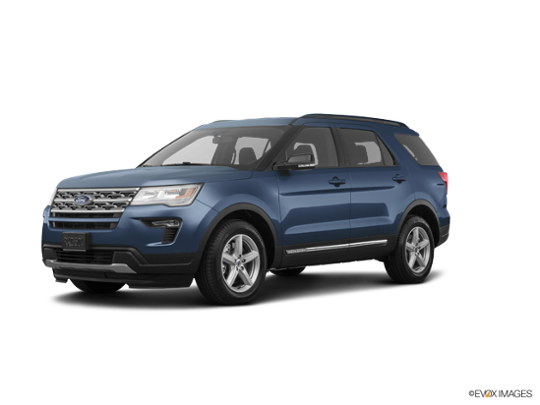 2018 Ford Explorer in Blue Metallic