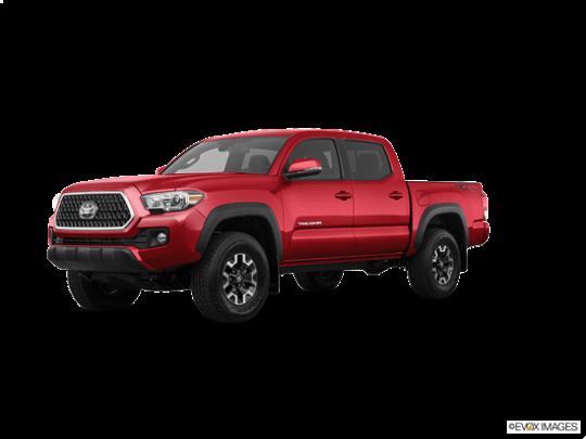 2018 Toyota Tacoma in Barcelona Red Metallic