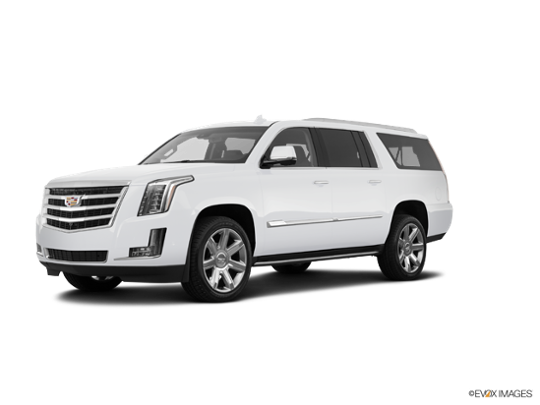 2018 Cadillac Escalade ESV in Crystal White Tricoat