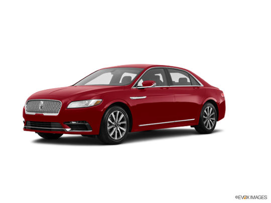 2018 LINCOLN Continental in Ruby Red Metallic Tinted Clearcoat