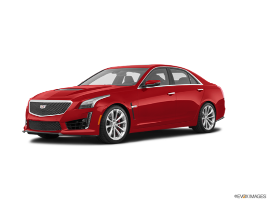 2018 Cadillac CTS-V Sedan in Red Obsession Tintcoat