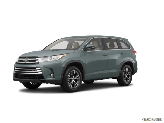 2018 Toyota Highlander in Alumina Jade Metallic