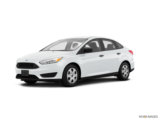 2018 Ford Focus in Oxford White
