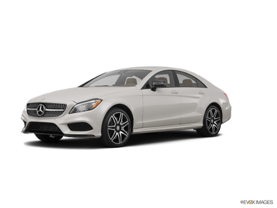 2018 Mercedes-Benz CLS in designo Magno Cashmere White (Matte Finish)