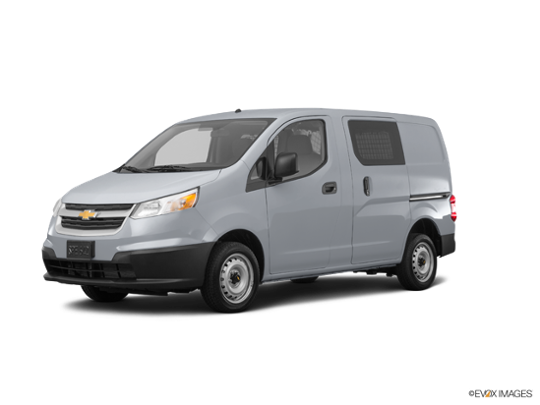 2018 Chevrolet City Express Cargo Van in Galvanized Silver