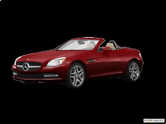 2015 Mercedes-Benz SLK-Class in Cardinal Red Metallic