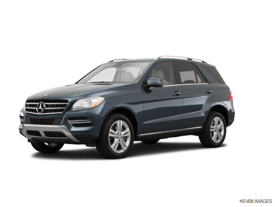 2015 Mercedes-Benz M-Class in Steel Gray Metallic