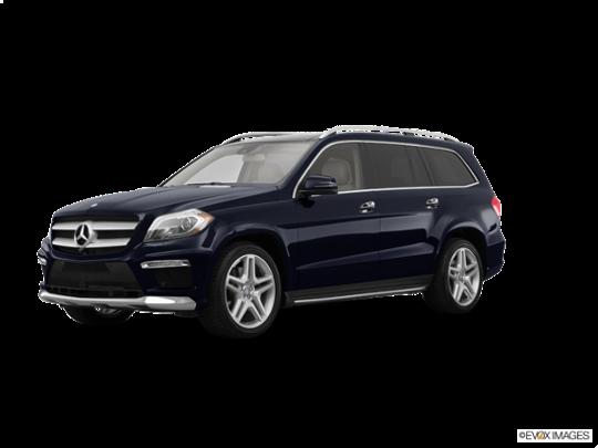 2015 Mercedes-Benz GL-Class in Steel Gray Metallic
