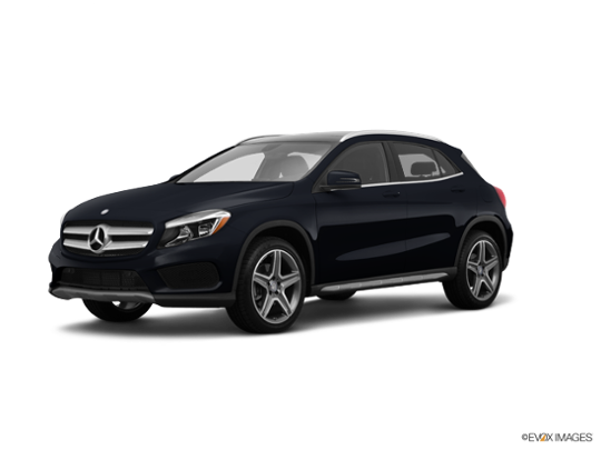 2015 Mercedes-Benz GLA-Class in Night Black