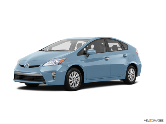 2015 Toyota Prius Plug-In in Sea Glass Pearl
