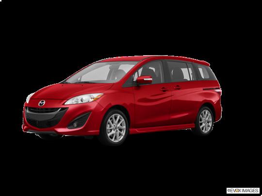 2015 Mazda Mazda5 in Zeal Red Mica