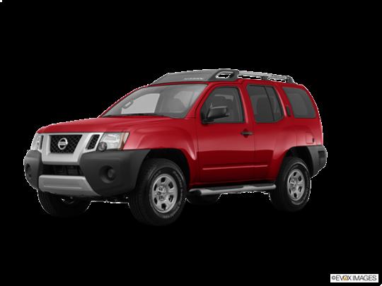 2015 Nissan Xterra in Cayenne Red