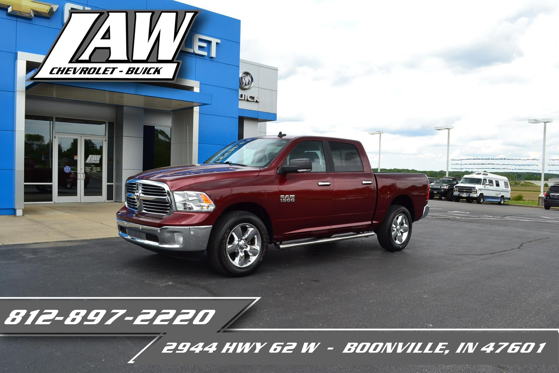 2018 Ram 1500 Vehicle Photo in Boonville, IN 47601