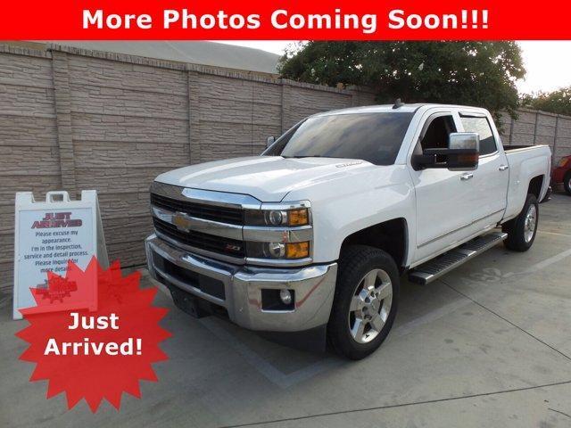 2016 Chevrolet Silverado 2500HD Vehicle Photo in San Antonio, TX 78209