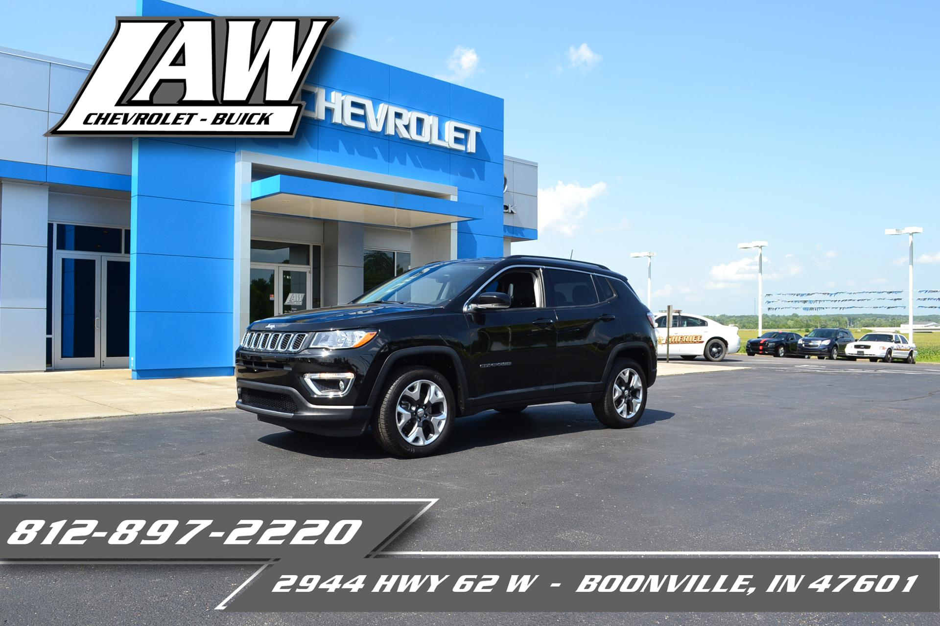 2018 Jeep Compass Vehicle Photo in BOONVILLE, IN 47601-9633