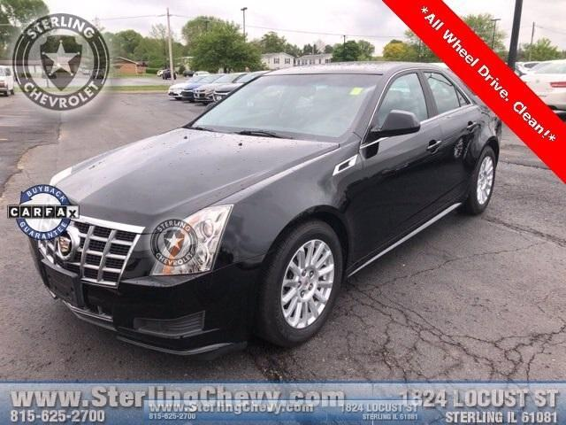 2012 Cadillac CTS Sedan Vehicle Photo in STERLING, IL 61081-1198