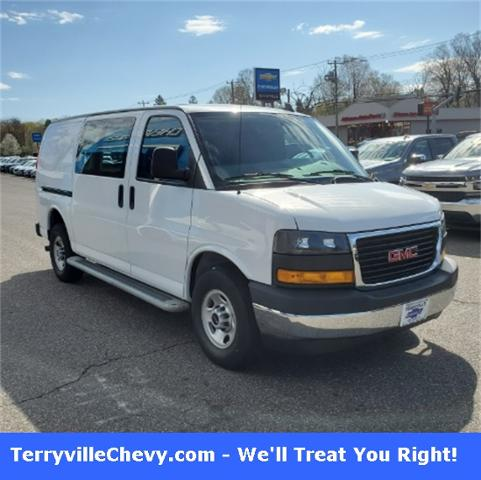 2019 GMC Savana Cargo Van Vehicle Photo in Terryville, CT 06786