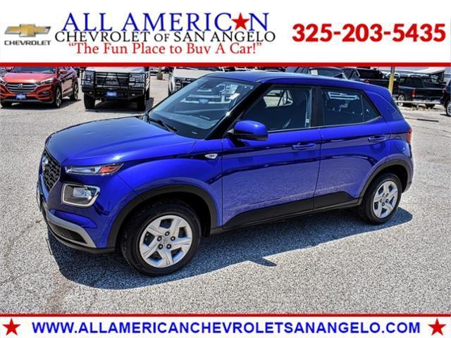 2020 Hyundai Venue Vehicle Photo in SAN ANGELO, TX 76903-5798