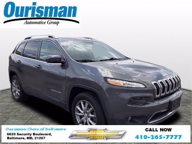 2018 Jeep Cherokee Vehicle Photo in BALTIMORE, MD 21207-4000