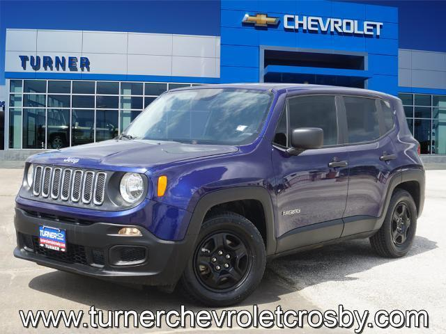 2017 Jeep Renegade Vehicle Photo in CROSBY, TX 77532-9157