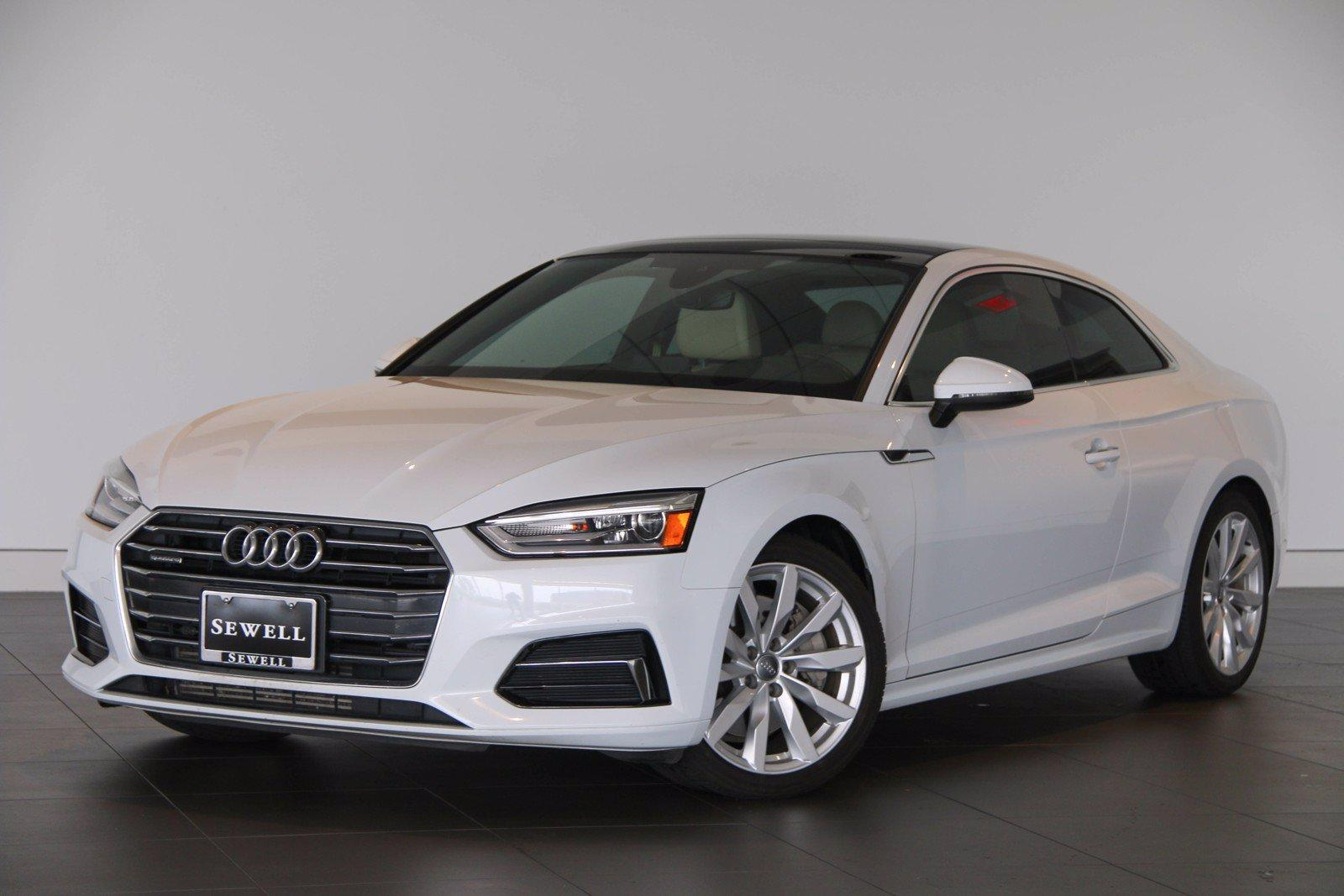 2018 Audi A5 Coupe Vehicle Photo in Sugar Land, TX 77478