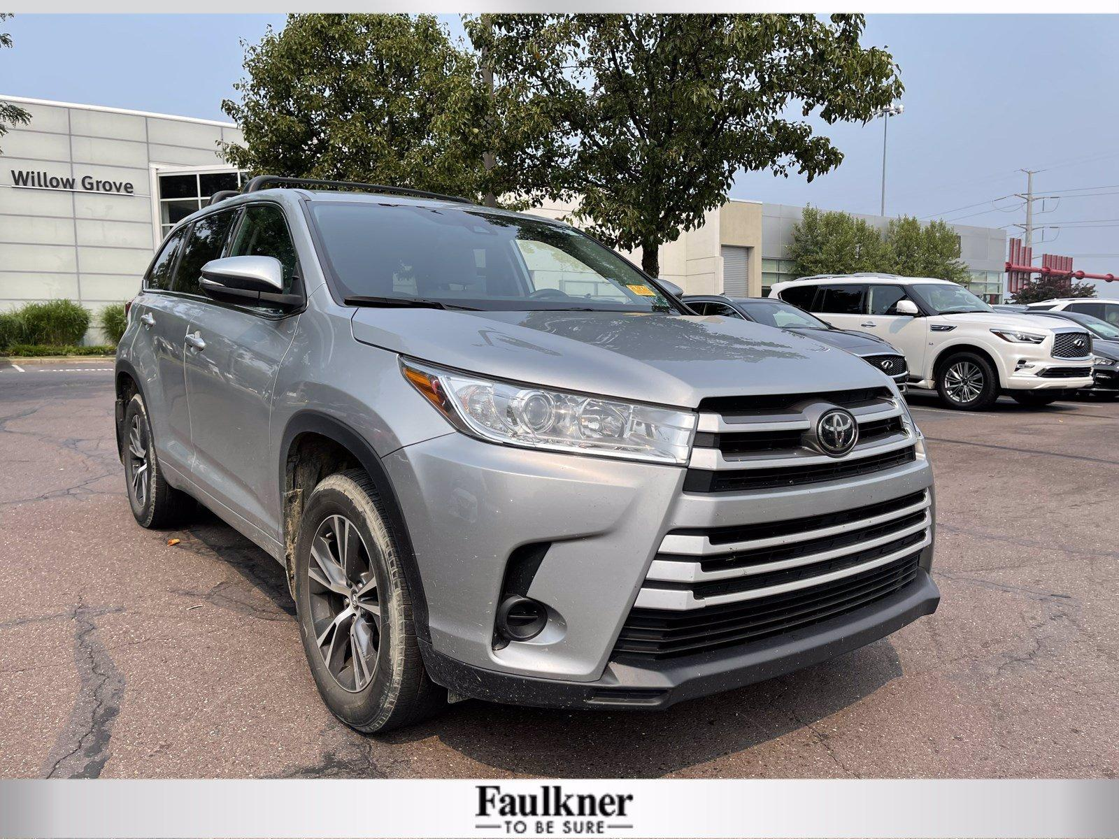 2018 Toyota Highlander Vehicle Photo in Willow Grove, PA 19090