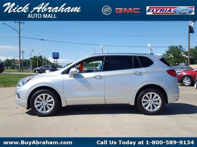 2018 Buick Envision Vehicle Photo in ELYRIA, OH 44035-6349