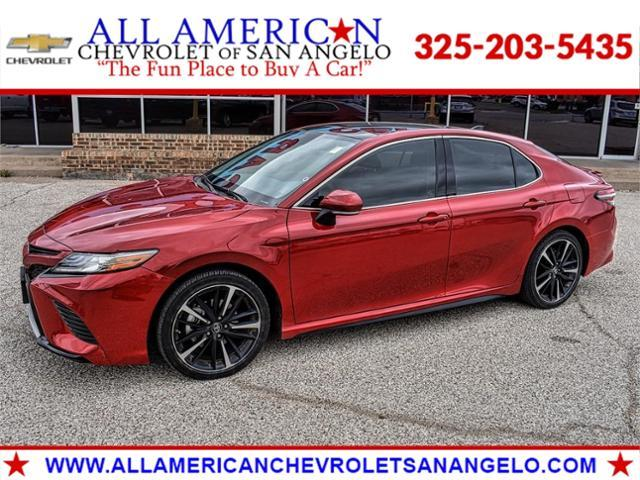 2019 Toyota Camry Vehicle Photo in SAN ANGELO, TX 76903-5798
