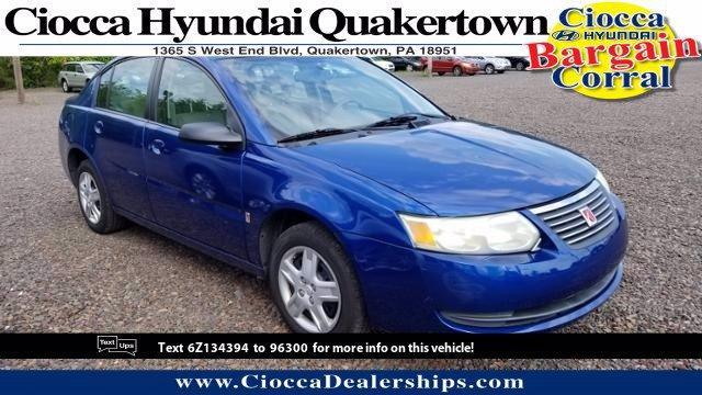 2006 Saturn Ion Vehicle Photo in Quakertown, PA 18951