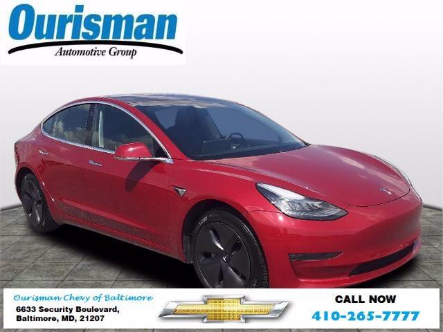 2018 Tesla Model 3 Vehicle Photo in BALTIMORE, MD 21207-4000