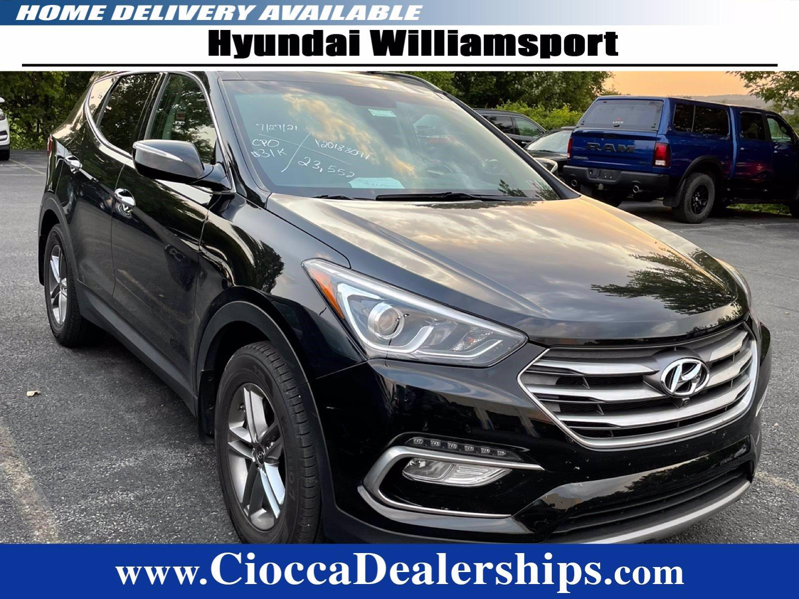 2018 Hyundai Santa Fe Sport Vehicle Photo in Muncy, PA 17756