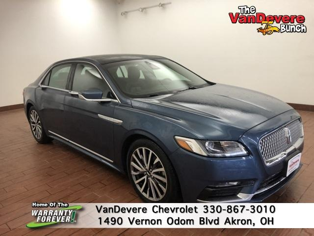 2018 LINCOLN Continental Vehicle Photo in Akron, OH 44320