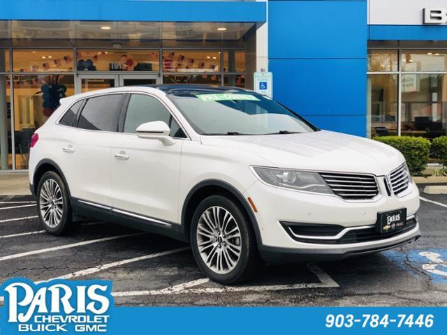 2016 LINCOLN MKX Vehicle Photo in PARIS, TX 75460-2116