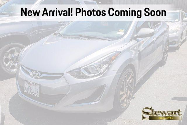 2016 Hyundai Elantra Vehicle Photo in COLMA, CA 94014-3284