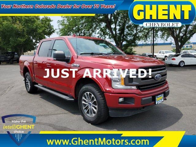2018 Ford F-150 Vehicle Photo in GREELEY, CO 80634-4125
