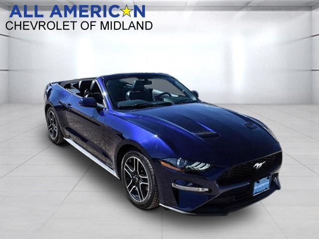 2020 Ford Mustang Vehicle Photo in Midland, TX 79703