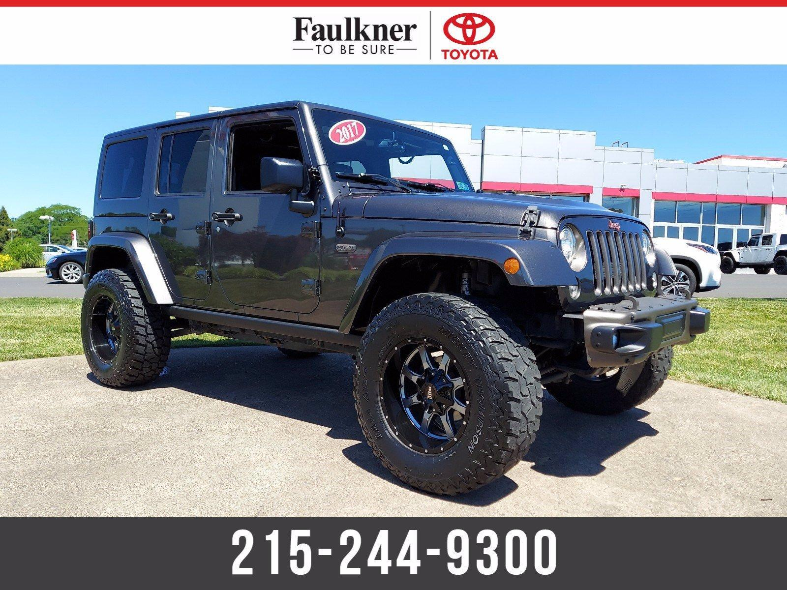 2017 Jeep Wrangler Unlimited Vehicle Photo in Trevose, PA 19053