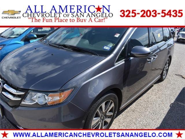 2016 Honda Odyssey Vehicle Photo in SAN ANGELO, TX 76903-5798