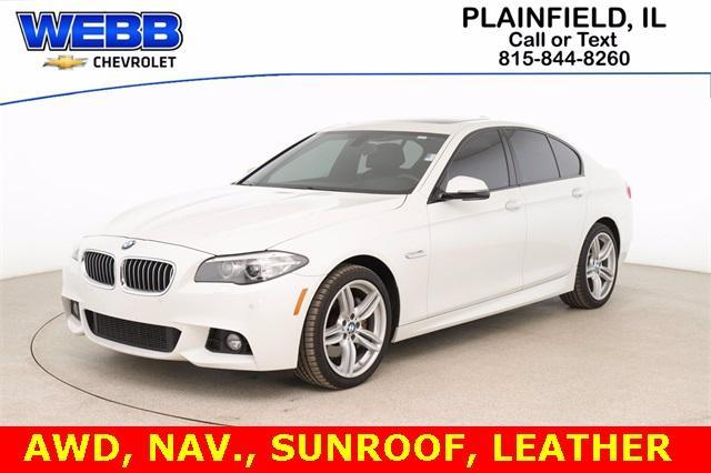 2016 BMW 535i xDrive Vehicle Photo in Plainfield, IL 60586-5132