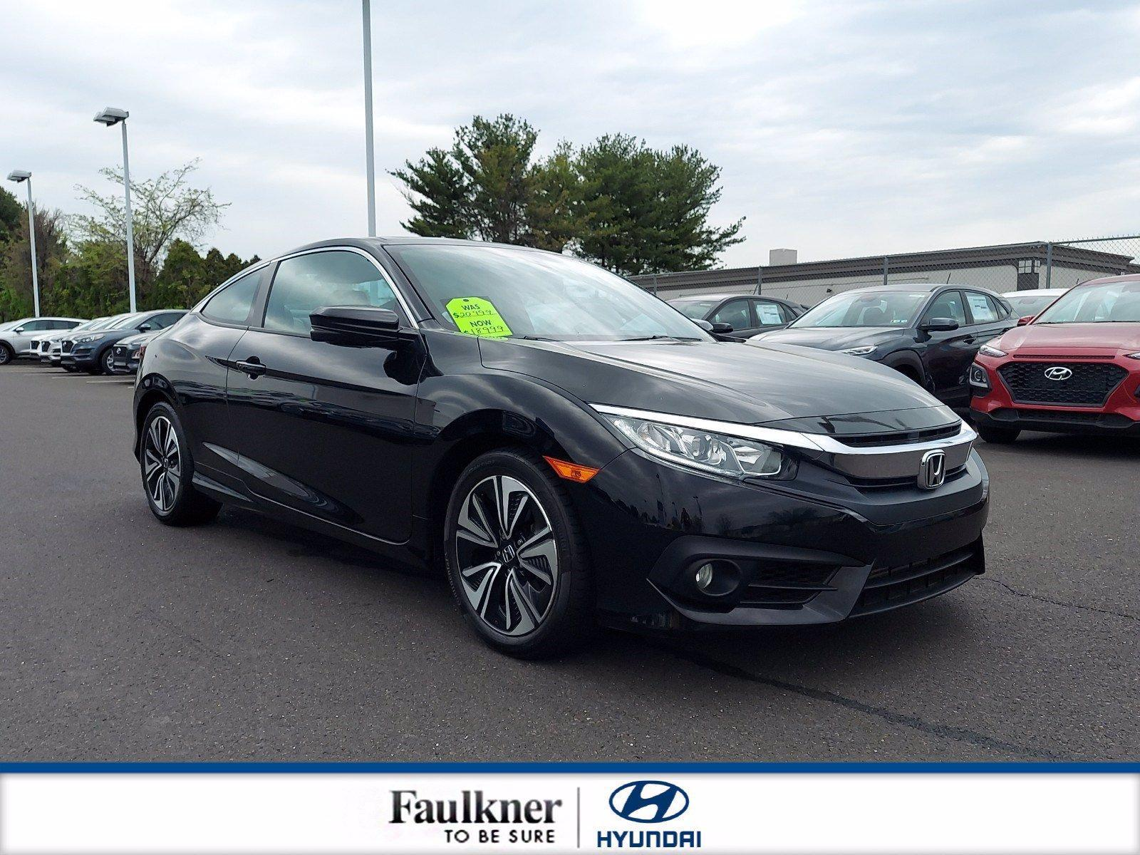 2018 Honda Civic Coupe Vehicle Photo in Philadelphia, PA 19116