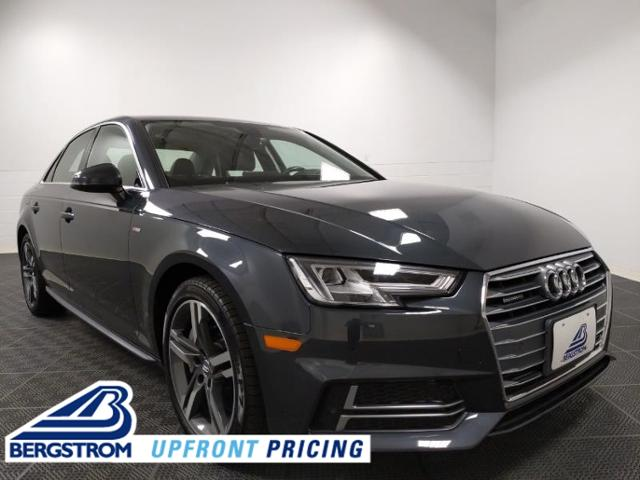2018 Audi A4 Vehicle Photo in Neenah, WI 54956