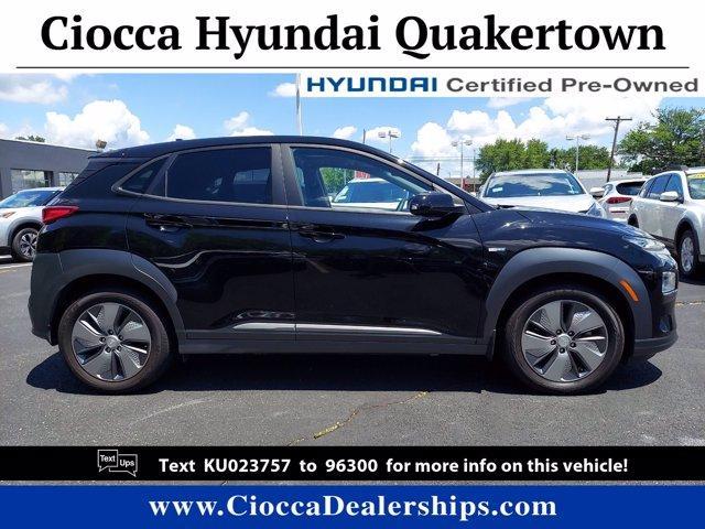 2019 Hyundai Kona EV Vehicle Photo in Quakertown, PA 18951