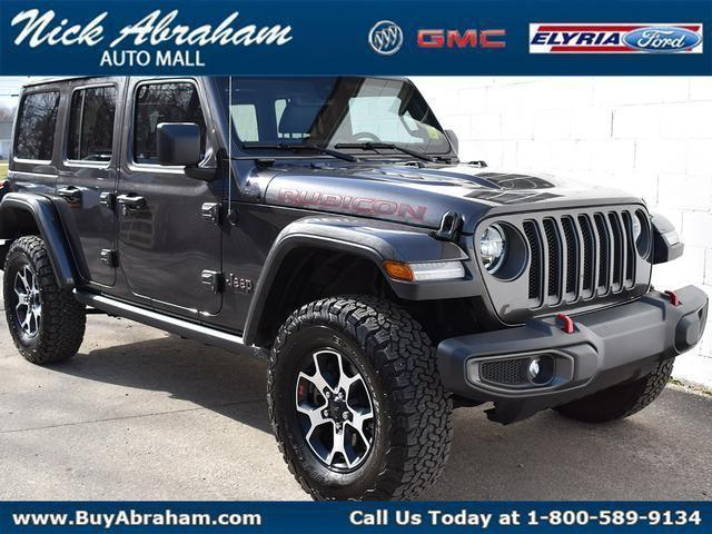 2020 Jeep Wrangler Unlimited Vehicle Photo in Elyria, OH 44035