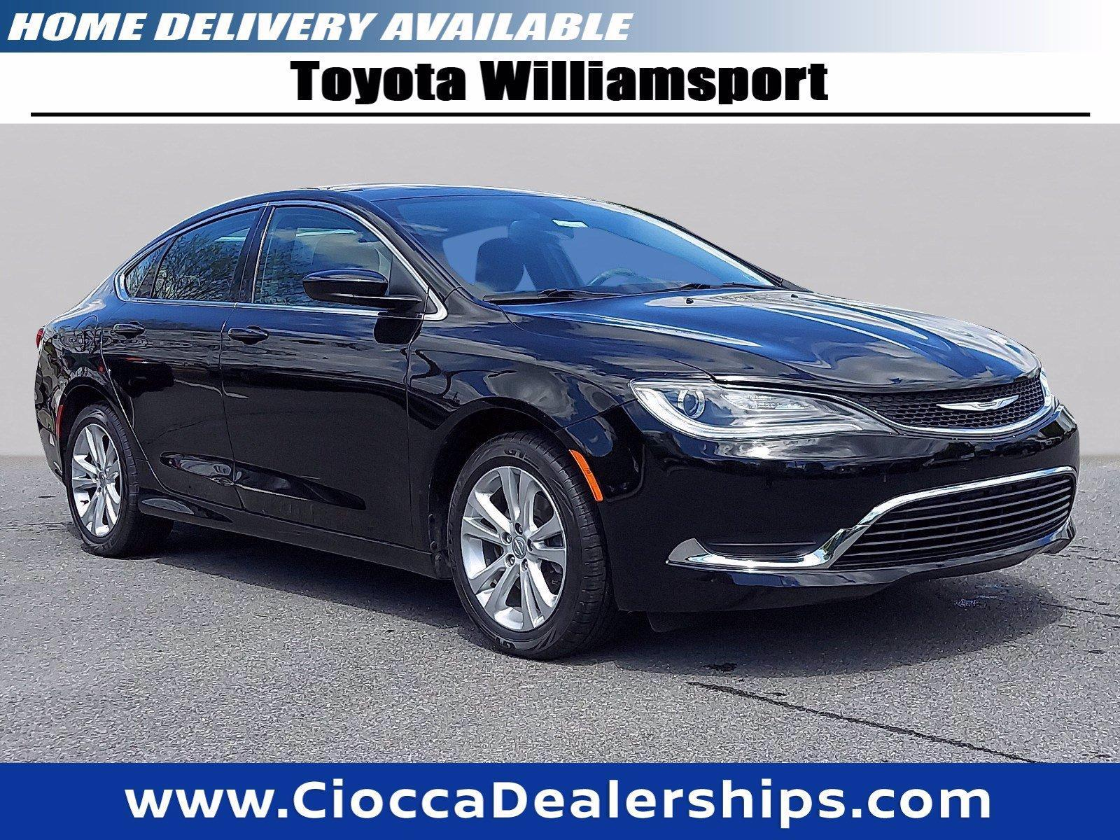 2015 Chrysler 200 Vehicle Photo in Muncy, PA 17756