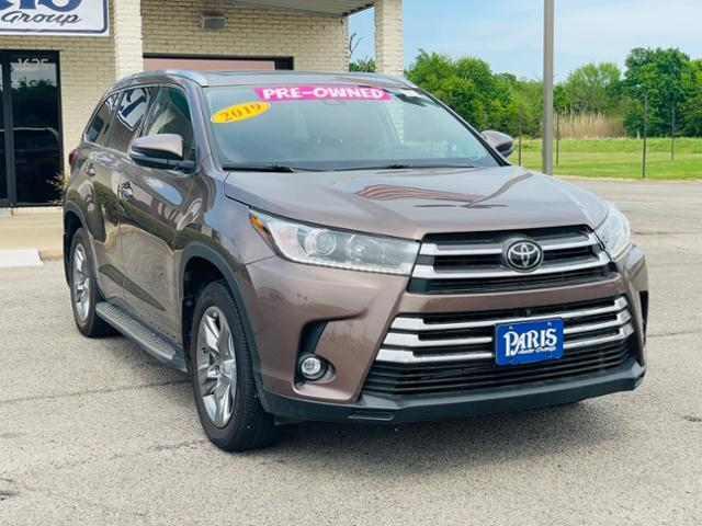 2019 Toyota Highlander Vehicle Photo in Paris, TX 75460
