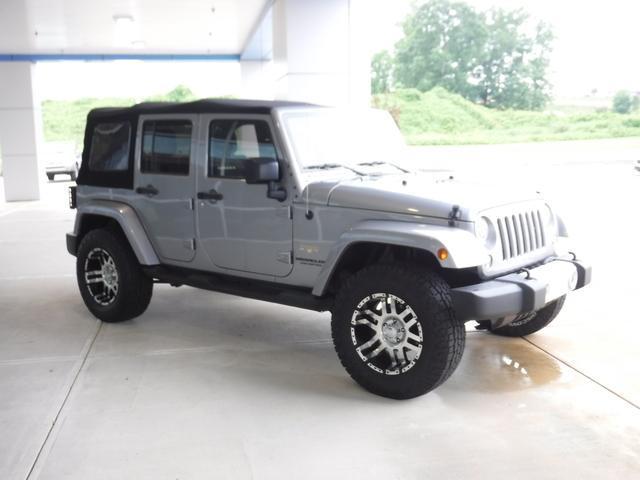 2015 Jeep Wrangler Unlimited Vehicle Photo in Jasper, GA 30143
