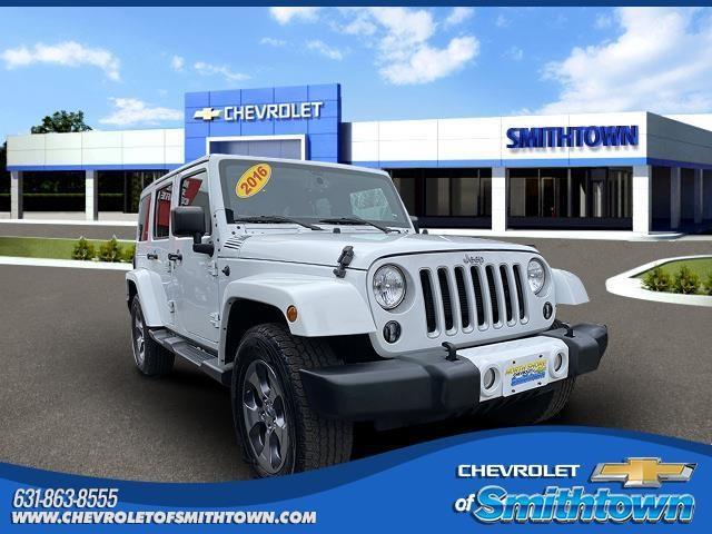 2016 Jeep Wrangler Unlimited Vehicle Photo in Saint James, NY 11780