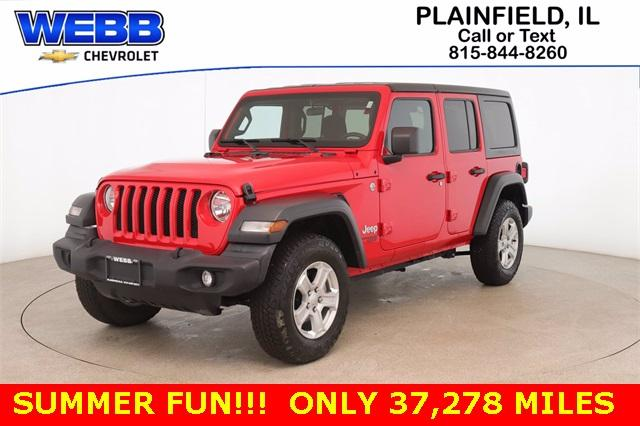 2018 Jeep Wrangler Unlimited Vehicle Photo in Plainfield, IL 60586-5132