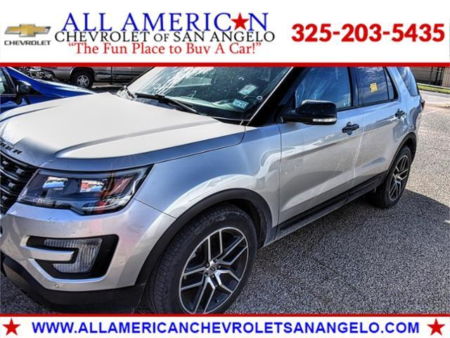 2017 Ford Explorer Vehicle Photo in SAN ANGELO, TX 76903-5798