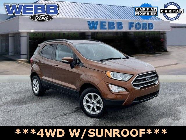 2018 Ford EcoSport Vehicle Photo in Highland, IN 46322